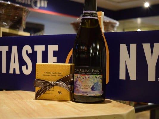 Taste NY Grand Central - Honey Truffle and Sparkling Pointe Brut.jpg
