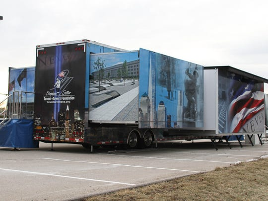 Stephen Siller Tunnel to Towers Foundation's Never Forget Mobile Exhibit educates youth about the historic events of that day. The high-tech, 53-foot tractor-trailer unfolds into a 1,000-square-foot exhibit.
