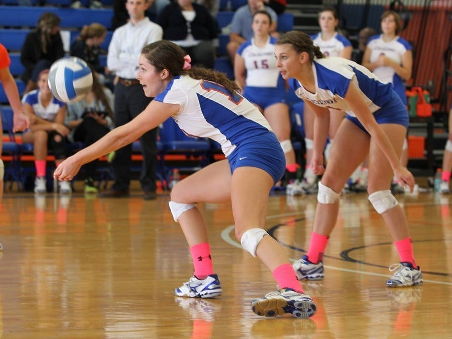 Rhinebeck High School graduate Rebecca Borquist, who plays women's volleyball for SUNY New Paltz, will compete in a tournament in the Netherlands next month.