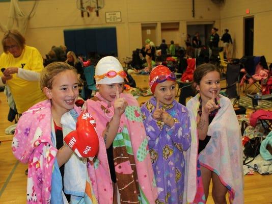 Youth Swim Chinooks Strong At Halloween Meet