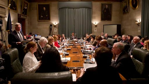 The Board of Regents meets at the State Education Building on Tuesday, May 17, 2016, in Albany, N.Y.