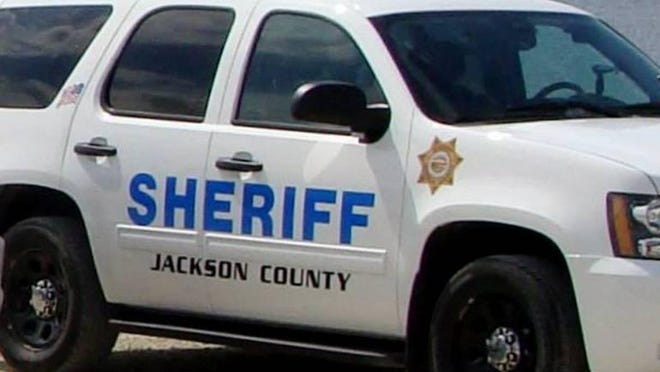 The Jackson County Sheriff's Office was called Thursday evening to the scene of an injury traffic accident just south of Holton.