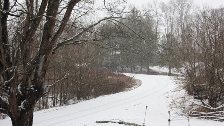 Snow in New Tazewell, Claiborne County