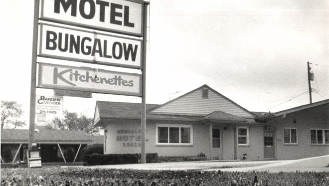 The Bungalow Motel on Michigan Avenue in Inkster.