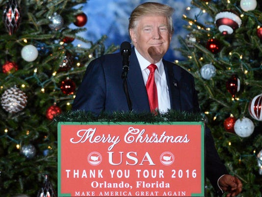 News: President-elect Donald Trump Thank You Tour