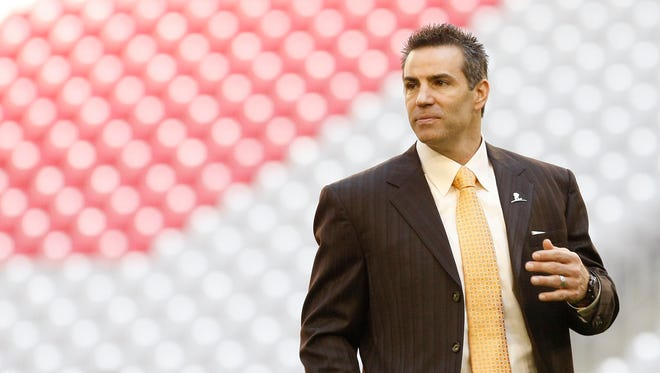 Former Arizona Cardinals quarterback Kurt Warner did not make the Hall of Fame in his first year of eligibility.
