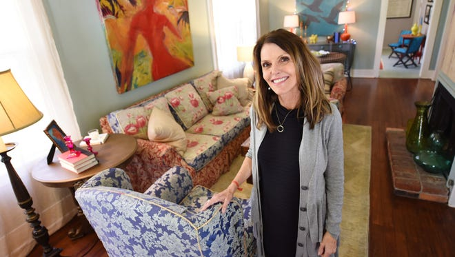 Jackson interior designer Susan Fontenot owns a historic home in Fondren that she rents using Airbnb. Her design touches and experience as a former bed and breakfast owner have helped her earn a Superhost designation on the site.