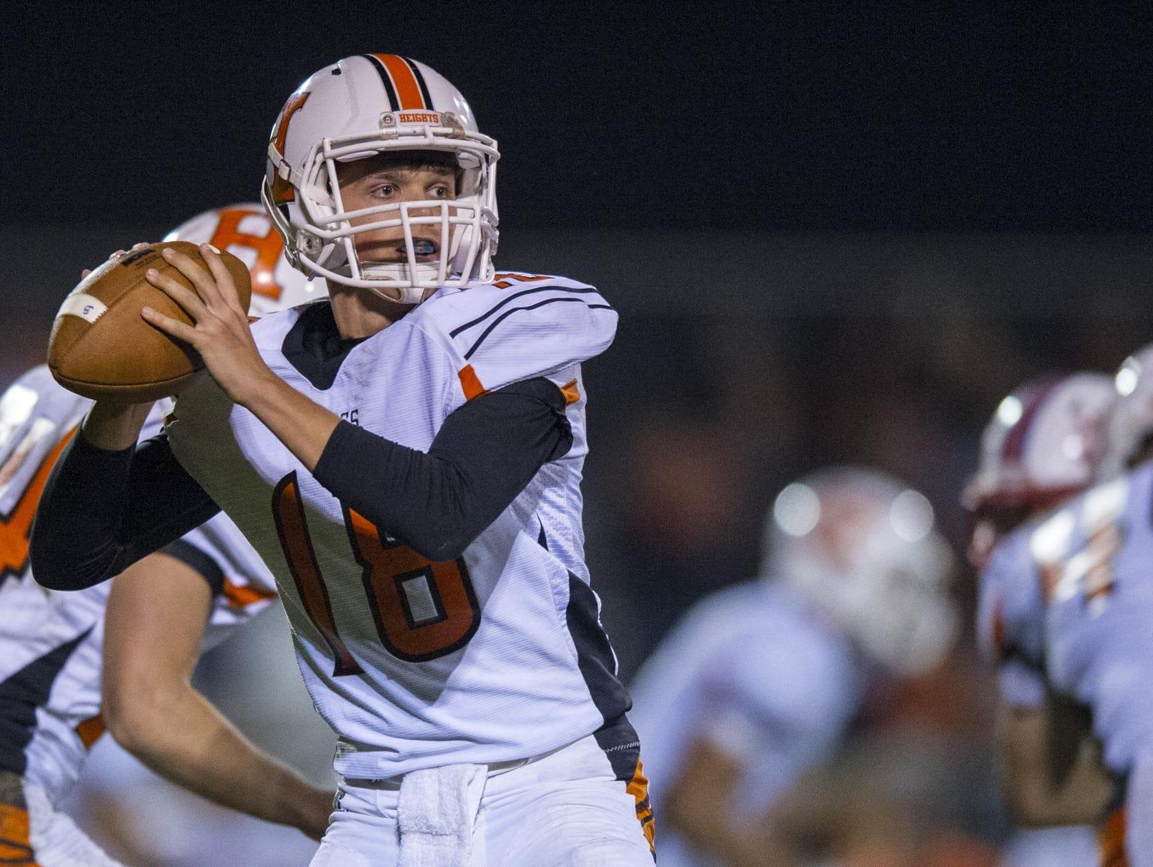 Hamilton Heights' quarterback Ethan Jones returns this season to lead a strong senior class.
