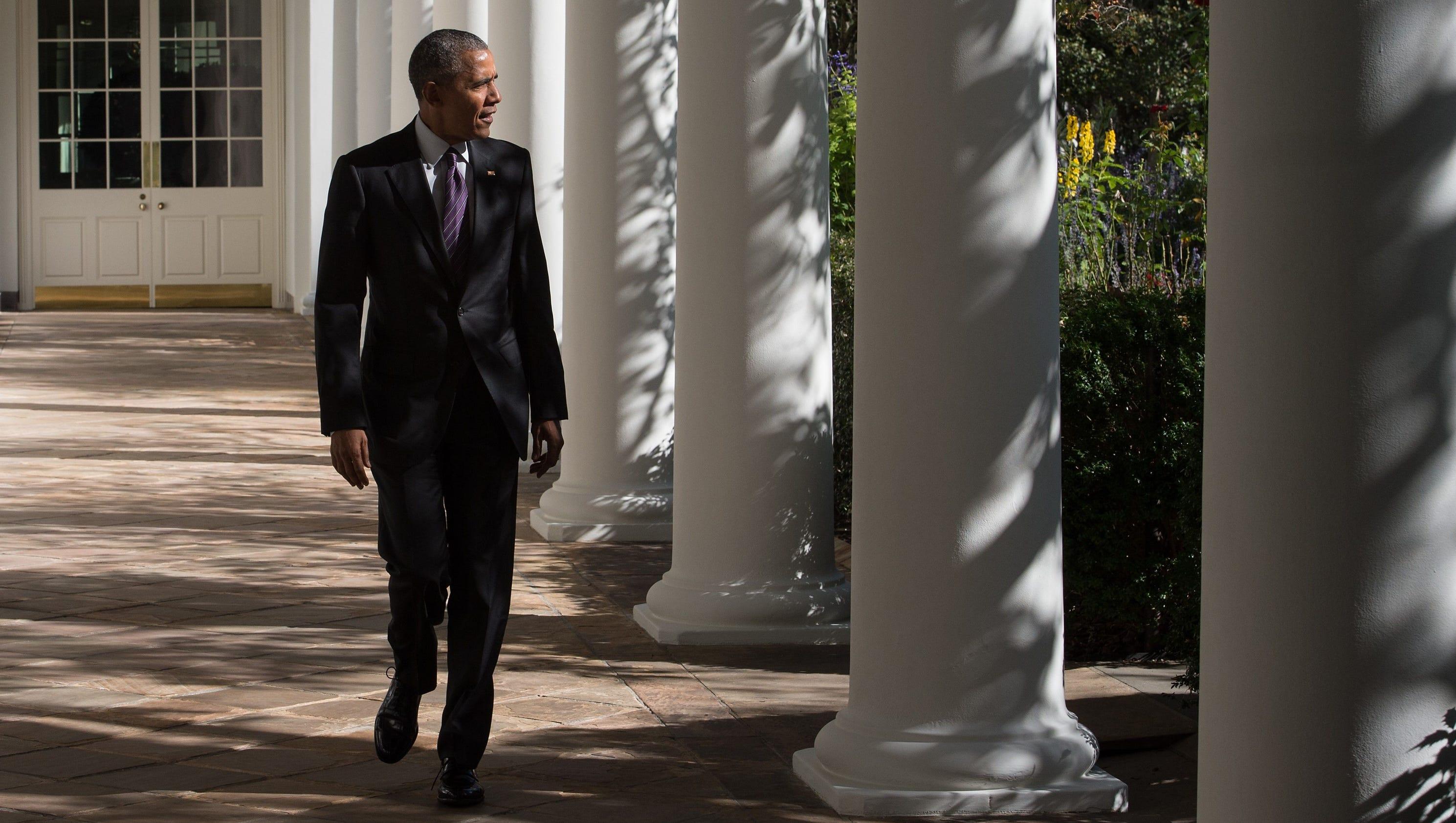 An 'Obama era' crashes as Donald Trump takes White House