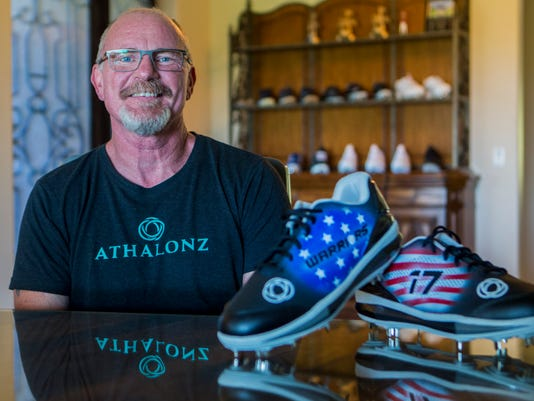 athalonz athletic shoes founder tim markison