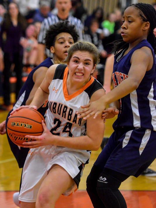 PHOTOS: York High vs York Suburban girl's basketball