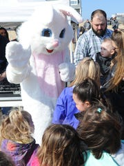 Dewey Beach's Annual Easter Egg Scoop on the beach