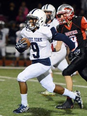 West York visits Dover for high school football Friday,