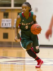 Jordan Hankins in 2014, as a Lawrence North High  School senior.