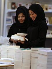 Saudi women visit the 4th Riyadh International Book