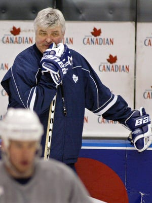 Pat Quinn played nine NHL seasons and coached for 20, including seven with the Toronto Maple Leafs (1998-99 through 2005-06).