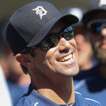 Detroit Tigers manager Brad Ausmus in the dugout during the eighth inning against the Miami Marlins on Wednesday, June 29, 2016 at Comerica Park in Detroit, MI.