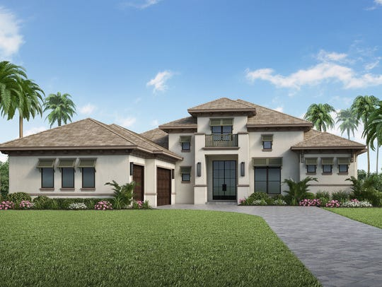 Stock Custom Homes is building this home at 655 West