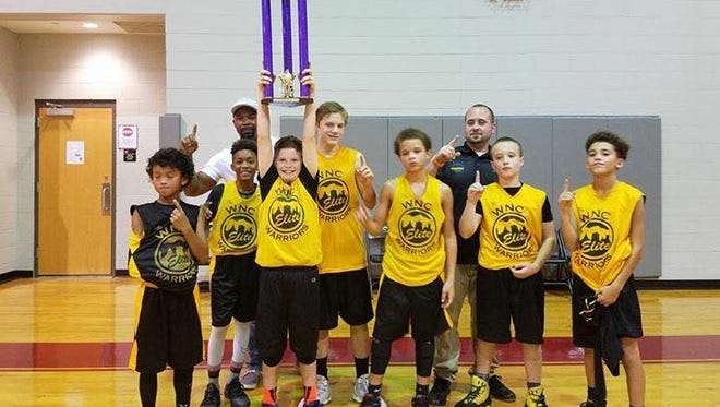 The Western North Carolina Warriors boys basketball team went 4-0 to win the Octoberfest tournament's sixth-grade championship over the weekend in Hickory.