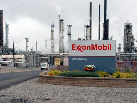 FILE - This Wednesday, Sept. 21, 2016, file photo shows Exxon Mobil's Billings Refinery in Billings, Mont. President-elect Donald Trump this week tapped ExxonMobil CEO Rex Tillerson to serve as his secretary of state. If confirmed by the Senate, where opposition is emerging, the move could have broad consequences for U.S. environmental policy and affect the role the U.S. plays in multinational discussions about climate change.