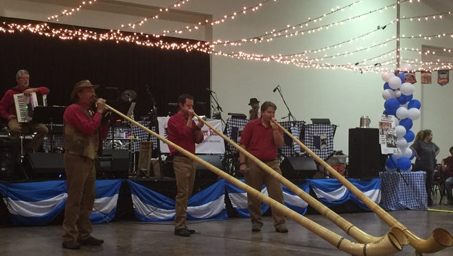 Big horns were a highlight at the Ruidoso 2015 Oktoberfest at the Ruidoso Convention Center.  Event hours are from 5 to 11 p.m. Friday noon to 11 p.m. and Saturday. For more information, call 575-257-6171. Visit the Ruidoso Oktoberfest website at oktoberfestruidoso.com or on Facebook at facebook.com/RuidosoOktoberfest.