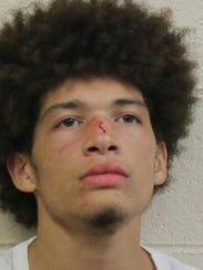 Robbery suspect Kameron J. Christopher
