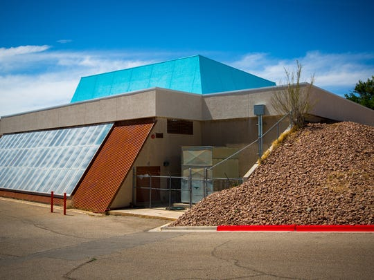 The New Horizons Dome Theater & Planetarium at the New Mexico Museum of Space History in Alamogordo, NM, July 8, 2016.