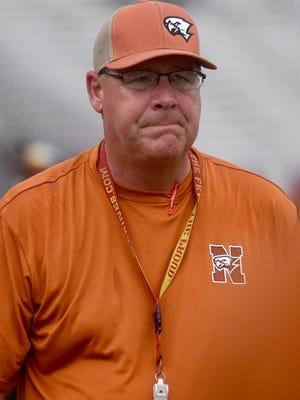 Northwood coach Jim Gatlin
