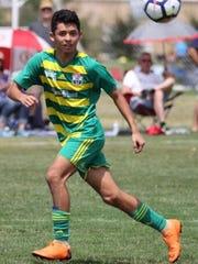 Jonathan Nicacio, 14, has proven himself to be one
