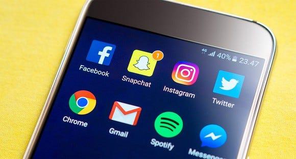 Social sexting app