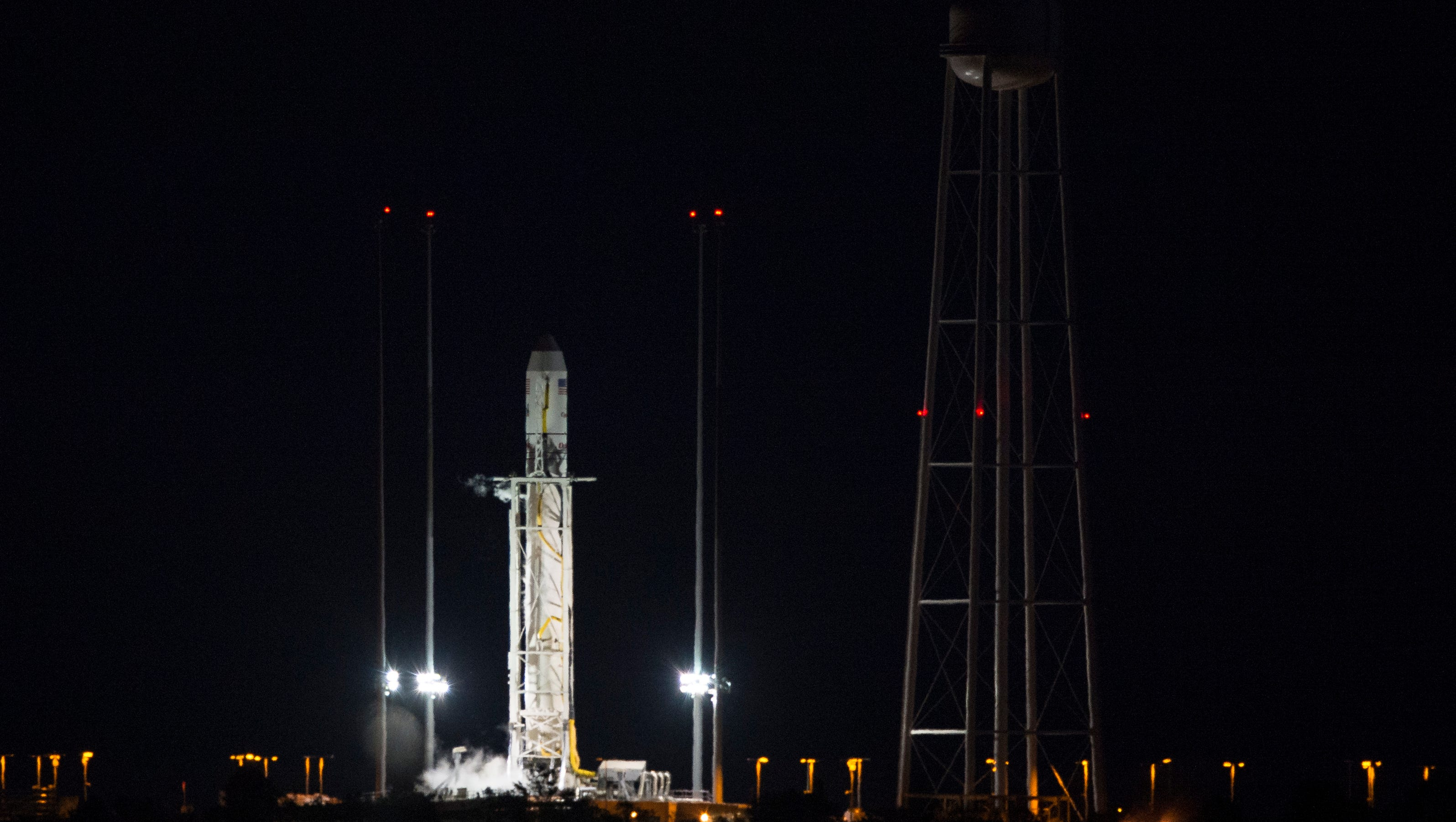 Unmanned NASA rocket explodes on launch in Virginia