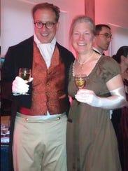 JASNA members Devoney Looser and her husband George