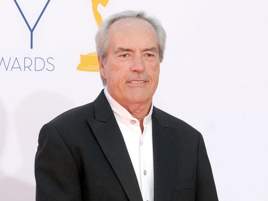 FILE - In this Sept. 23, 2012 file photo, Powers Boothe