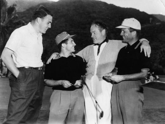 Bob Hope was a regular at the O'Donnell Golf Course.