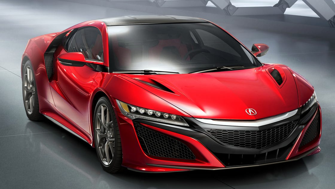 Acura NSX Supercar challenges conventional wisdom