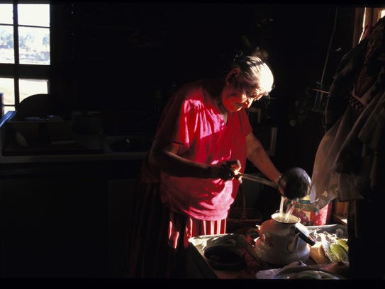 Katherine Smith's refusal to become a part of a Navajo