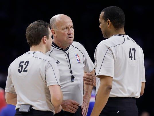 NBA will release referee grades for close games