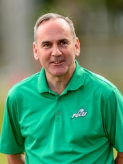 FGCU athletic director Ken Kavanagh was glad to see