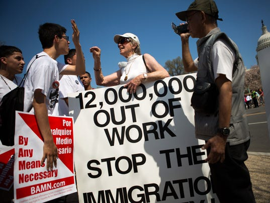 the immigration debate Immigration debate today is racist some have suggested that the immigration debate today is racist samuel huntington maintains that mexican immigrants are creating significant problems, specifically with response to assimilation.