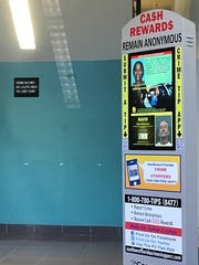 Kiosks installed by Crime Stoppers have information on local crimes an criminals and ways to provide tips to local law enforcement.
