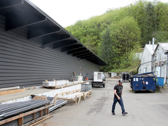 Black Diamond acquired the old Rayonier building in a run down section of an industrial area in Shelton and invested millions to convert it into a state of the art marijuana grow house.
