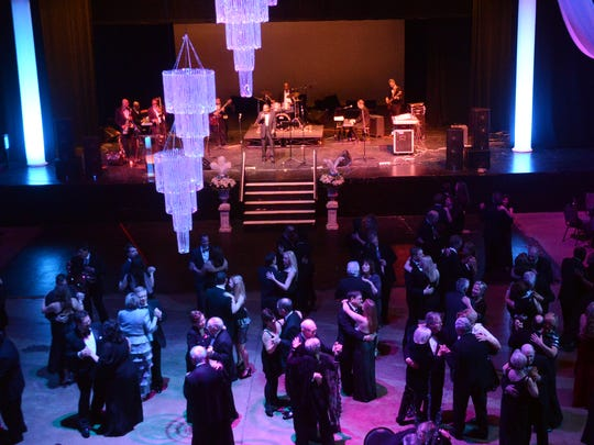 The Jackson Symphony's 2014 Crystal Ball was held Saturday, January 25, 2014 at the Carl Perkins Civic Center.