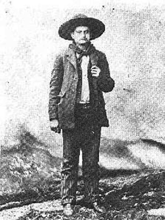 """Charlie """"Cherokee Bill"""" Goldsby."""