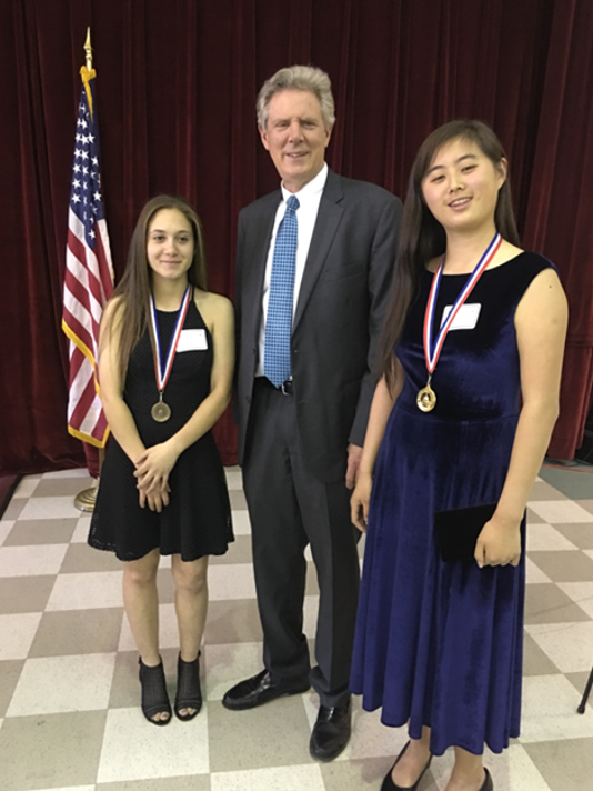 Pallone recognizes outstanding High School students