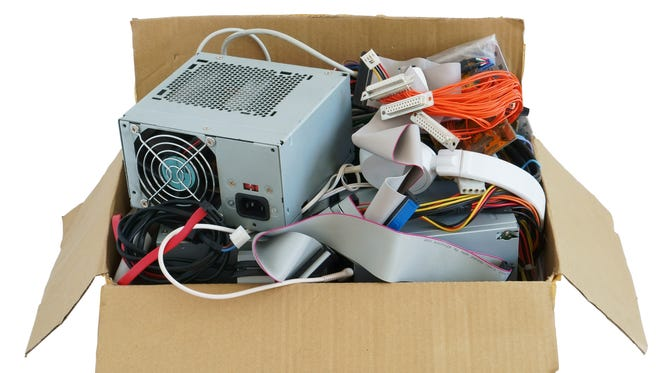 Drop off hazardous waste and electronics Saturday during Leon County's Hazardous Waste and Electronics Collection.
