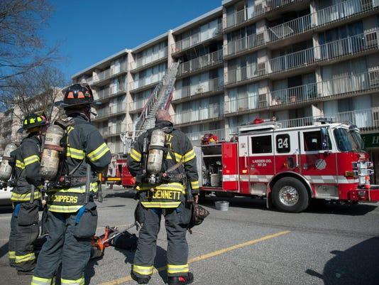 Cherry Hill apartment fire