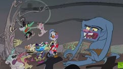 The couch gag for this year's 'Treehouse of Horror'