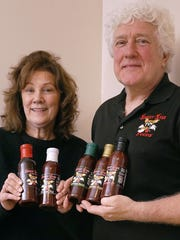 Judy and Mike Campbell show the five flavors of Sweet