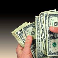 Cash, $1 bills