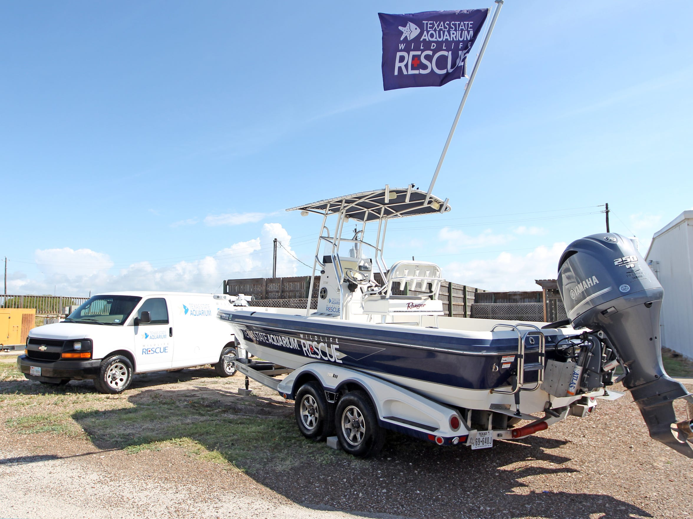 The Wildlife Rehabilitation Center's rescue van and boat provides the facility with greater reach than before.